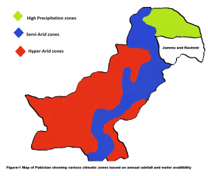 map of pakistan climate zones